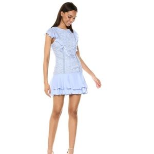 Parker Silk Lace Cocktail Dress Size 0